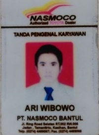 id card marketing toyota jogja