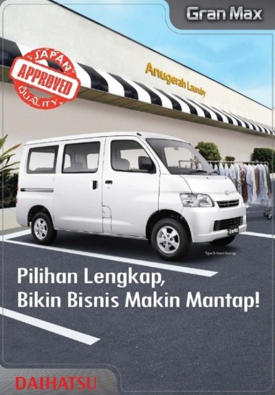 Brosur Daihatsu Gran Max Minibus