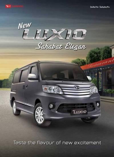 Brosur Daihatsu Luxio