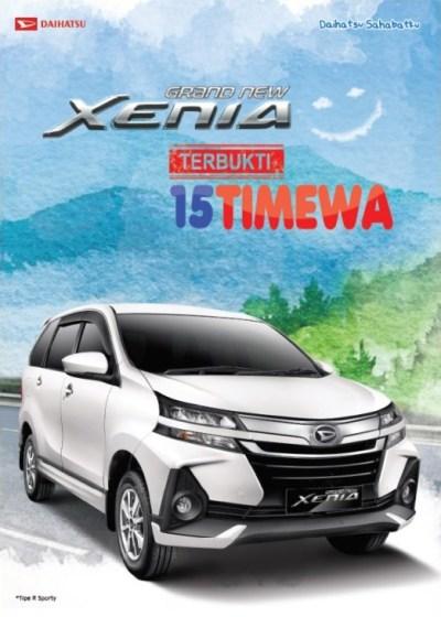 Daihatsu Xenia Spesifikasi Harga Otr Kredit Belimobilbaru