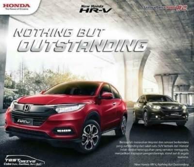 Brosur Honda HRV