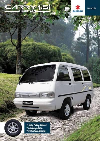 Brosur Suzuki Carry Real Van