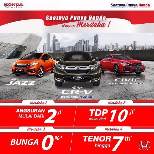 Promo Honda Tegal