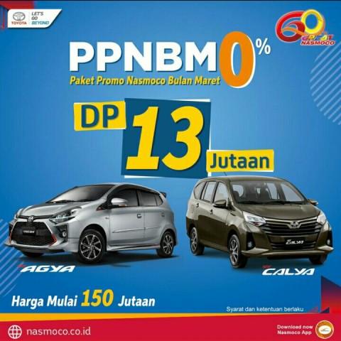 ppnbm 0% dp 13 jutaaan